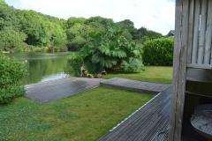 Lakeside holiday lodge