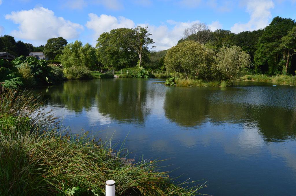 Lake view Cornwall Nanpusker