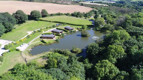 Lakeside fishing lodges from Nanpusker Lakeside Lodges near St Ives in Cornwall – for idyllic family fishing holidays.