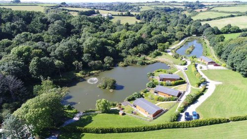 Coarse Fishing Holidays from Nanpusker Lakeside Lodges offers Fishing Holidays in Cornwall via two lakes brimming with crucian carp, bream and carp up to 28 lbs