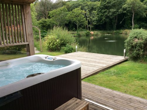 About our Fishing Lodge holidays at Nanpusker Lakeside Lodges in Cornwall. Meet your hosts Alan and Paula.