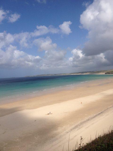 Lelant beach